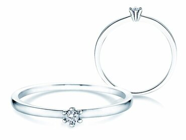 Solitaire Classic Petite with diamond