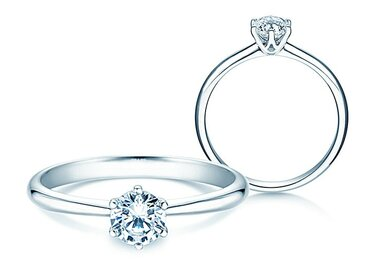 Engagement ring Spirit with diamond