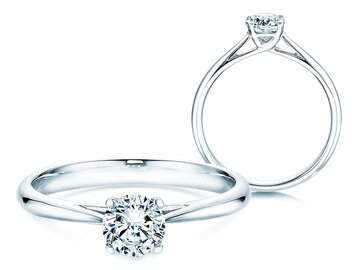 Engagement ring Delight in white gold
