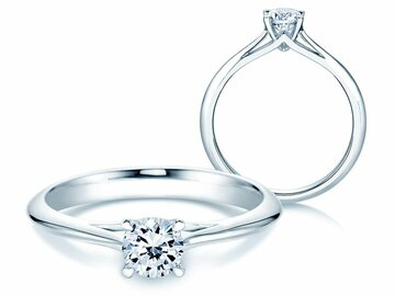 Engagement ring Heaven 4 in platinum