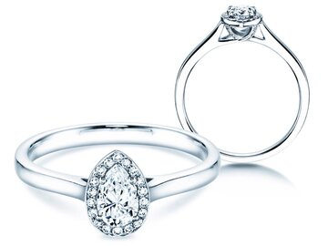 Engagement ring Pear Shape