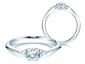 Engagement ring Glory in platinum