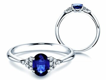 Engagement ring Glory Saphir