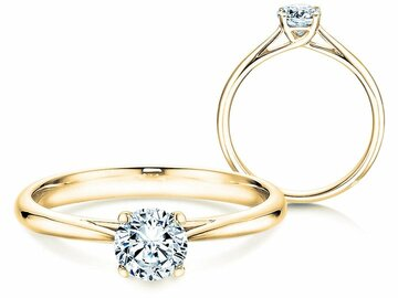 Engagement ring Delight in yellow gold