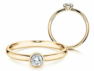 Engagement ring Eternal in yellow gold
