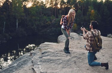 The perfect place for the proposal