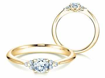Engagement ring Glory in yellow gold